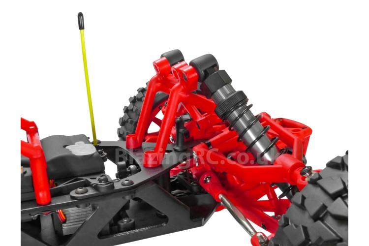Rovan Baja 1/5 Scale 30.5cc Petrol RC Car - Red/Nylon